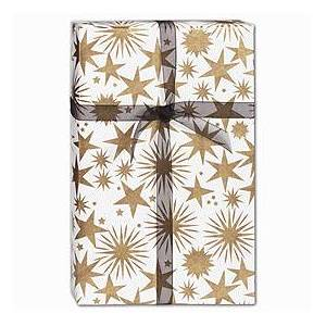 """Bags & Bows by Deluxe Stargaze Gift Wrap, 24"""" x 100'"""