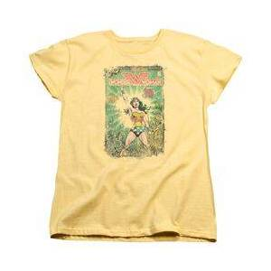 TrevCo DC BESIEGED COVER - S/S WOMENS TEE T-Shirt  - Size: Extra Large