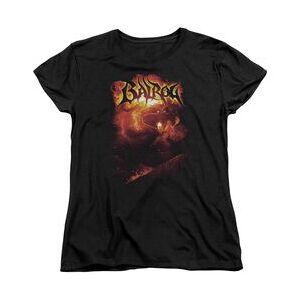 TrevCo LOR BALROG - S/S WOMENS TEE - BLACK T-Shirt  - Size: SM