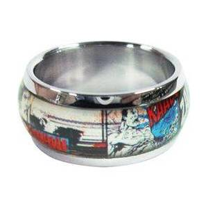 Superman Comic Ring  - Size: 12