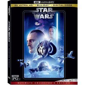 Star Wars: Phantom Menace (4K) (WBR) (Coll) (3pk)