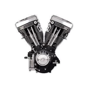 S & S Cycle V111 V Series Long Block Wrinkle Black Engine