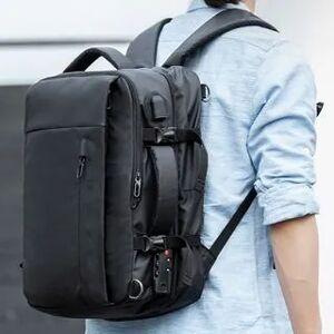 Moyyi Laptop Backpack Black - One Size
