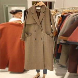 Di:C Double Breasted Trench Coat