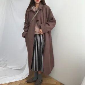 Ilona Single-Breasted Long Coat