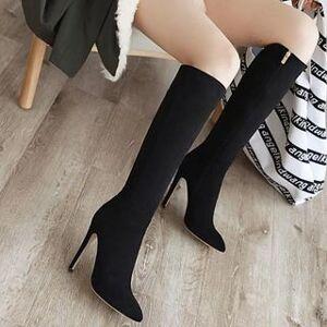 Aegina High Heel Tall Boots
