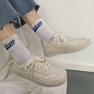Satomi Plain Lace Up Sneakers  - http://www.yesstyle.com/p1075219586