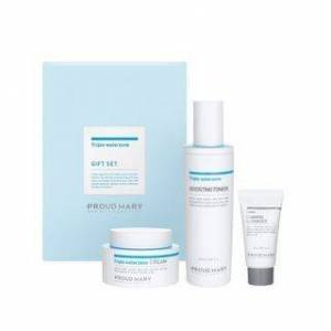 PROUD MARY - Triple Water Zone Line Gift Set: Solution 50ml + Cream 50ml + Lacto-Fresh Whipping Cleanser 20ml 3 pcs