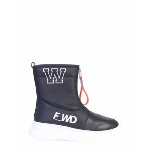 forward leather boot  - female - BLACK - Size: 38