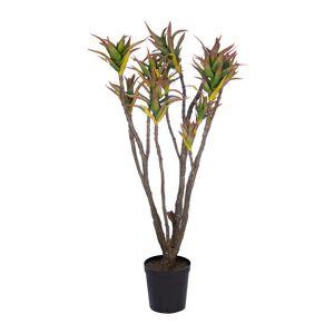 Silk-ka - Artificial Aloe Plant - Purple/Green