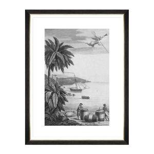 MINDTHEGAP - Colonial Port Framed Print - I