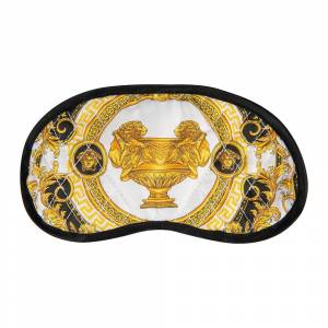 Versace Home - La Coupe Des Dieux Fabric Night Mask - Gray/White/Gold