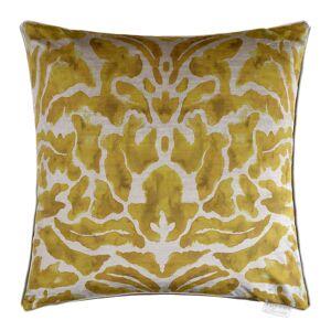 Voyage Maison - Nikko Velvet Pillow - 50x50cm - Mustard