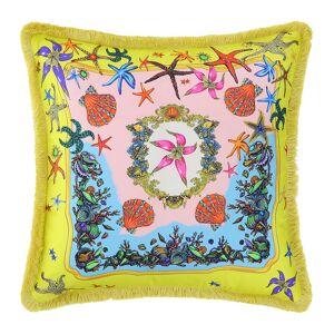 Versace Home - Tresors De La Mer Pillow - 45x45cm - Yellow/Multi