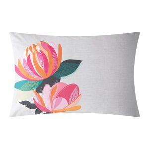 Sara Miller - Peony Petals Pillowcase - Set of 2 - Pale Gray