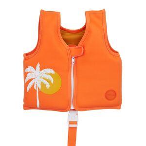 Sunnylife - Desert Palms Life Jacket - Neon Pomelo - 1-2 Years