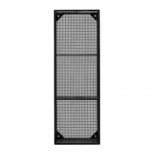Nordal - Rectangle 3 Box Shelf - Black