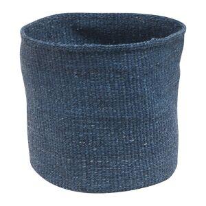 The Basket Room - Bluu Hand Woven Storage Basket - Denim Blue - S