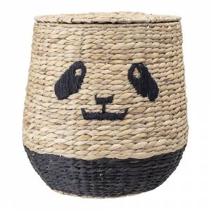 Bloomingville - Panda Basket with Lid