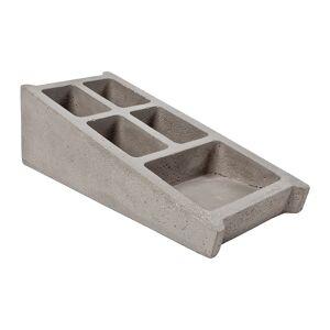 Lyon Beton - Blockwork Concrete Desk Organizer