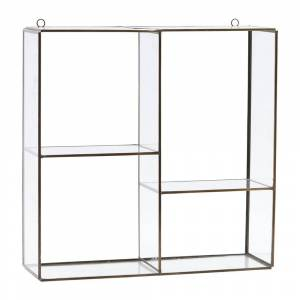 House Doctor - Hanging Wall Storage Unit - 4 Compartments