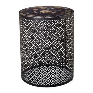 Pols Potten - Semi Precious Stone Side Table - Black