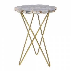 Luxe - Agate Table - Dark