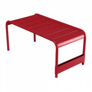 Fermob - Luxembourg Low Table - Poppy