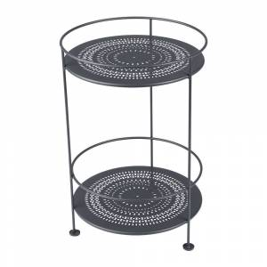 Fermob - Guinguette Side Table - Anthracite