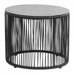 Nordal - Gardy Side Table with Glass Plate