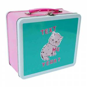 Third Drawer Down - Magda Archer Text Me Yeah Lunch Tin
