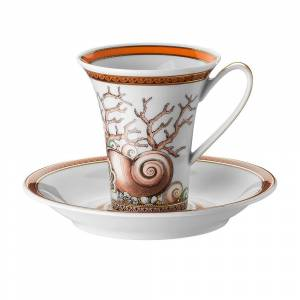 Versace Home - Les Étoiles de la Mer Coffee Cup & Saucer