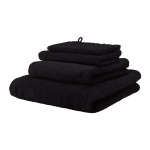 Aquanova - London Towel - Black - Bath Sheet