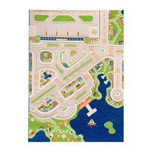 IVI World - Children's 3D Play Rug - Mini City - 134x180cm