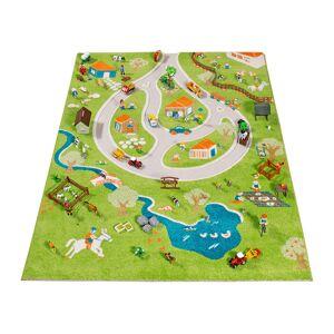 IVI World - Children's 3D Play Rug - Farm - 134x180cm