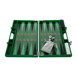 casacarta - Lacquered Backgammon Set - Leaf