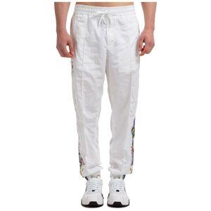 Versace Men's trousers pants trésor de la mer  - White - Size: 48