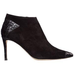 Giuseppe Zanotti Women's suede heel ankle boots booties daiana