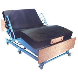 """MEDLINE INDUSTRIES Medline Kings Pride Full Electric Bariatric Bed,60"""" x 80"""",Queen,Each,BHAKP60801"""