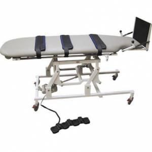 "MEDLINE INDUSTRIES Medline Wheelchair Accessible Hi-Lo Tilt Therapy Table,76""L x 26""W x 19""H,Each,HSM6058"