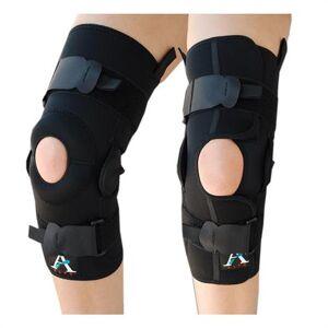 Alps Knee Brace With Adjustable Hinges,Medium,Wrap-Around With Hinge,Each,Kbhw