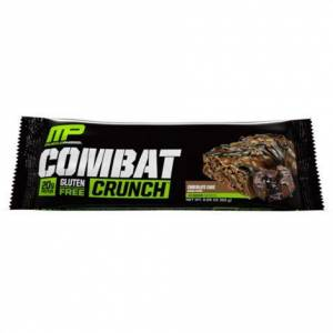 MusclePharm COMBAT CRUNCH Bar,CHOCOLATE PEANUT BUTTER CUP,12/Pack,1060251