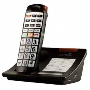 SERENE INNOVATIONS, INC. Serene Innovations CL30 Amplified Big Button Loud Volume CID Cordless Phone,Talking Telephone,Each,CL-30
