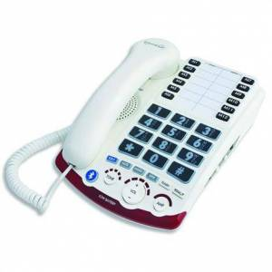 SERENE INNOVATIONS, INC. Serene Innovations High Definition Amplified Corded Telephone,HD-70 Amplified Bluetooth Phone,Each,HD 7010