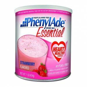 APPLIED NUTRITION Applied PhenylAde Essential Drink Mix,1lb (454gm) Can,Orange Creme Flavor,4/Pack,9503