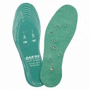 "LHASA OMS INC Lhasa OMS Magnetic Green Foam Insoles,11"" Long Foam,Pair,LHA188"