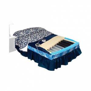"""Span America PressureGuard Turn Select In-Home Styles Therapeutic Mattress,80""""L x 60""""W,Queen,Therapy on Center,Each,TS8060-CTR-29"""