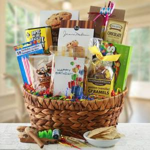 Design It Yourself Gift Baskets Time to Celebrate - Celebrations Gift Basket