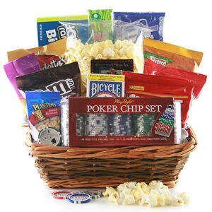 Design It Yourself Gift Baskets Poker Face - Poker Gift Basket