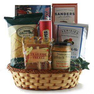 Design It Yourself Gift Baskets Campfire Snacks - Gourmet Food Gift Basket